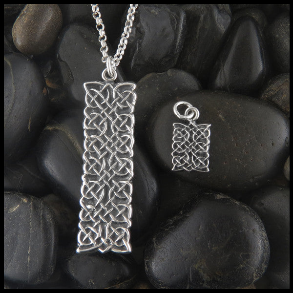 Celtic pendants in 14k gold and sterling silver tagged silver unique celtic knot pendant in sterling silver mozeypictures Image collections