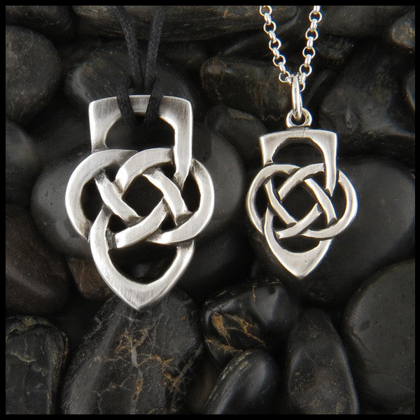Father's Knot Celtic pendant in Sterling Silver