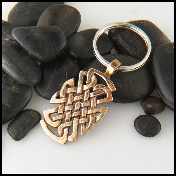 St Andrew Knot Key Chain