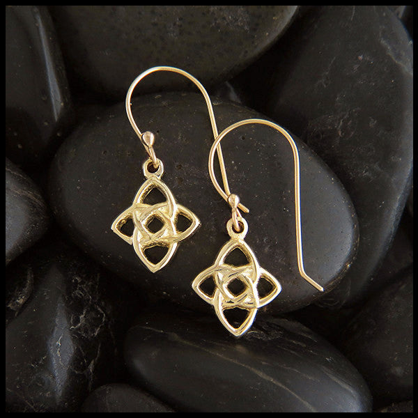 Starlight Knot Earrings