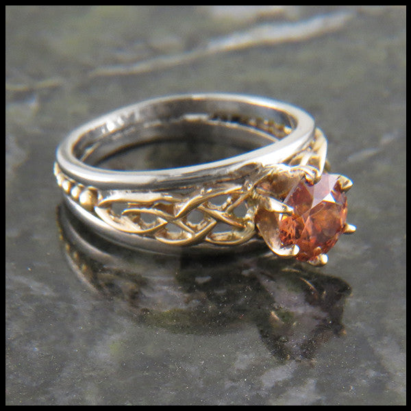Custom Celtic Engagement Ring