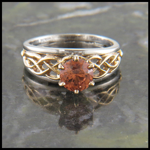 Tanzanian Zircon Custom Ring