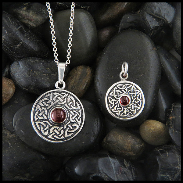Wheel of life pendants in sterling silver with gemstones walker celtic wheel of life pendants in sterling silver with gemstones mozeypictures Gallery