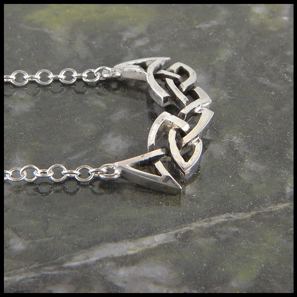 Celtic Knot Bar Necklace