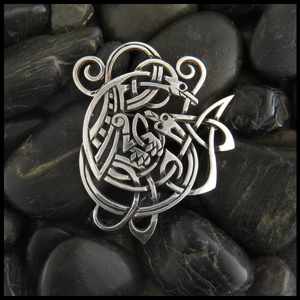 Mithril Celtic Brooch