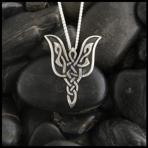 Celtic Angel Pendant