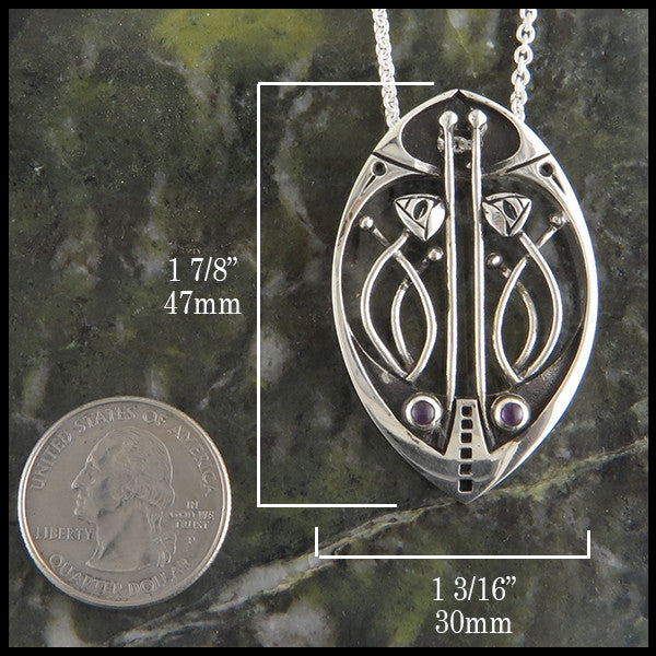 Mithril Pendant with Amethyst