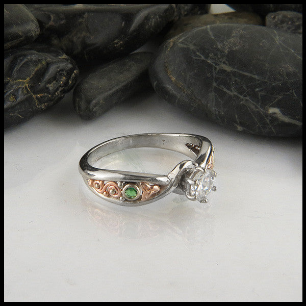 Celtic Engagment Ring