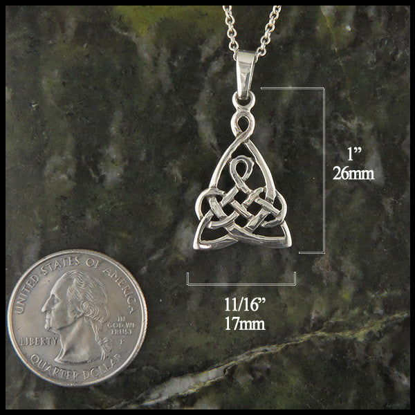 Sterling silver mother's pendant