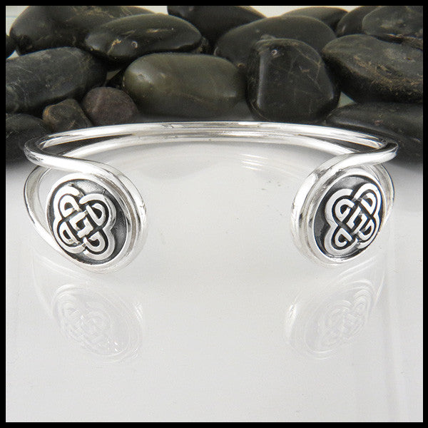 Celtic Knot Bangle Bracelet