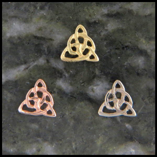 Open Celtic Knot Single Post Earring (Half Pair)