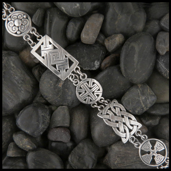 Multi-link Celtic Bracelet