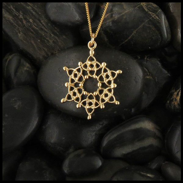 14K Gold Starlight Pendant