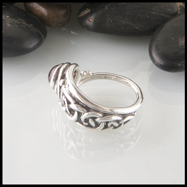 Celtic Knot Ring in Silver