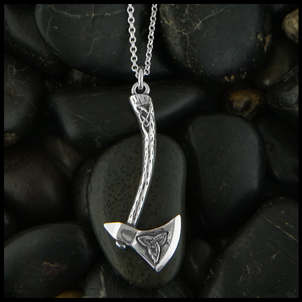 Celtic axe pendant