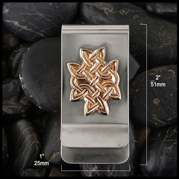 Celtic Knot Money Clip