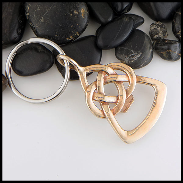 Celtic Father's Knot Key Ring and Bottle Opener