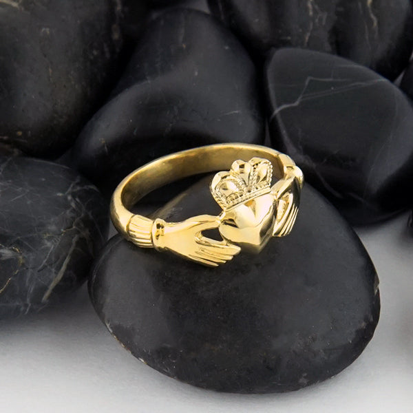 Heritage Claddagh Ring in Gold