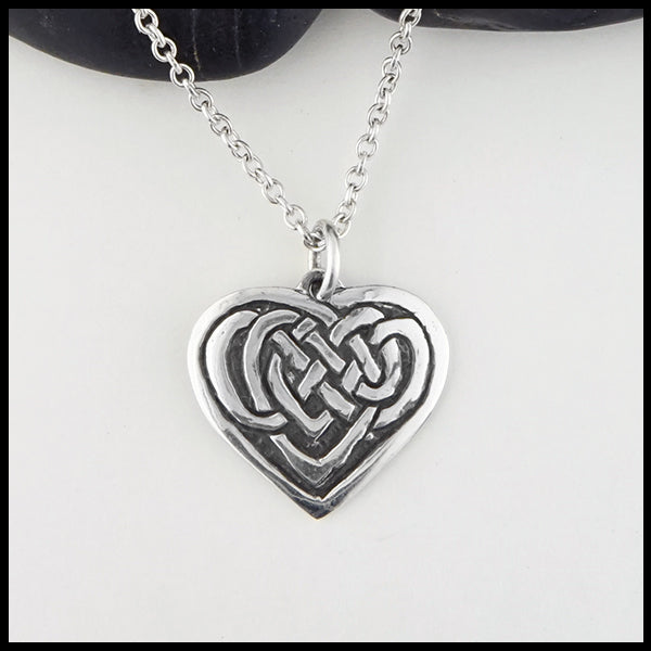 Personalized Jeannie Heart Pendant