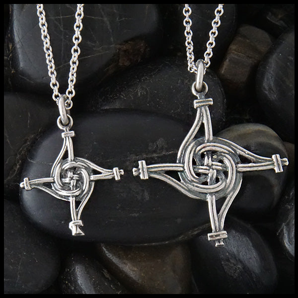 St. Brigid's Spiral Cross