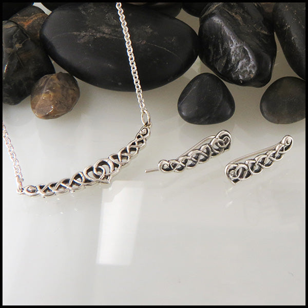 Celtic Necklace and Earring Set