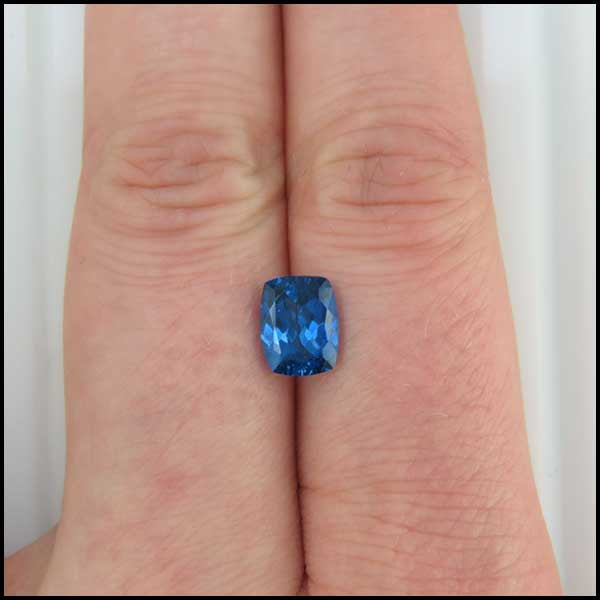 Dark Purple Cushion Cut Tanzanite