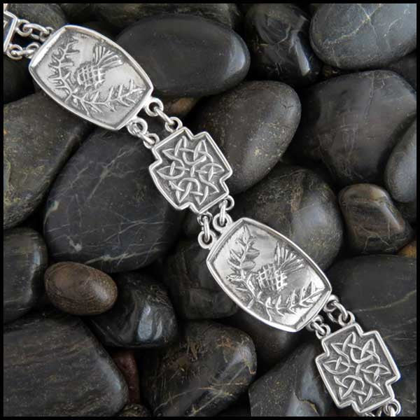 Scottish Thistle bracelet