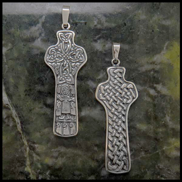 Detailed Celtic Cross in Sterling Silver