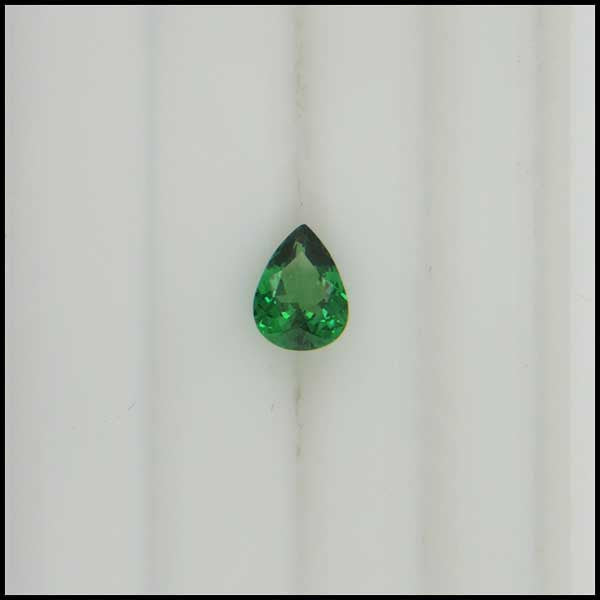 st 0.97ct Pear Shaped Tsavorite Garnet