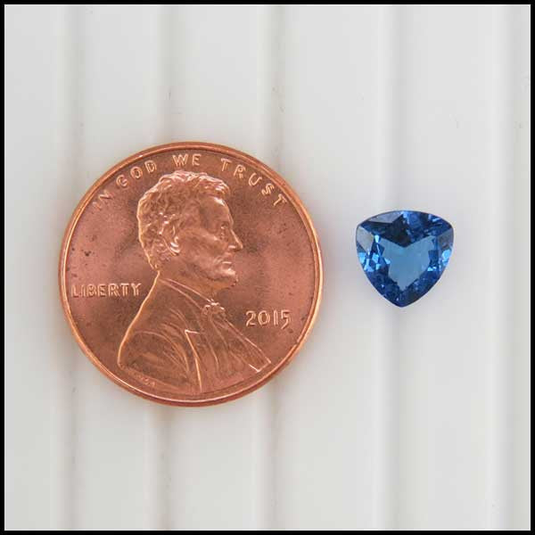 st   1.06ct Trilliant Cut Tanzanite