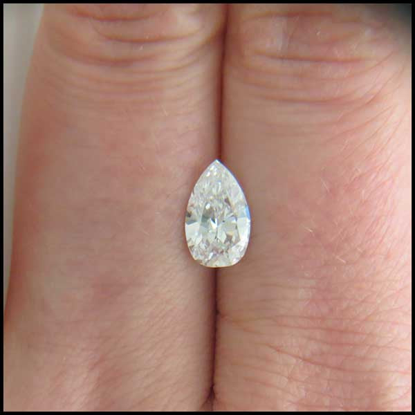 st   1.37ct Pear Shaped Diamond