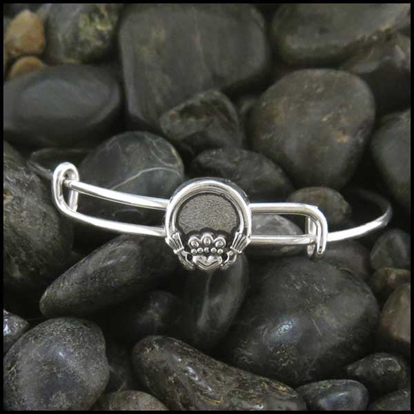 Claddagh adjustable bracelet