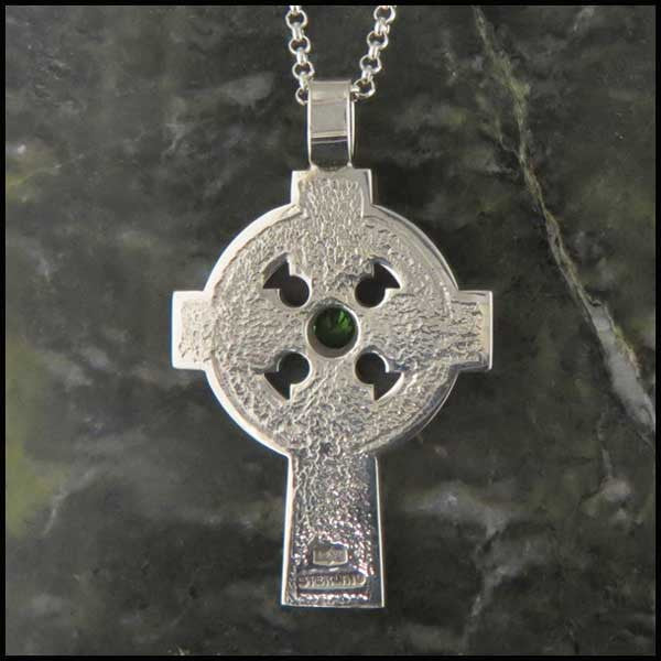 Willis Celtic Cross in Sterling Silver