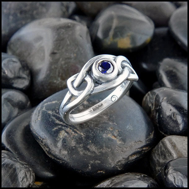 Fiona's Knot Ring with Gemstones