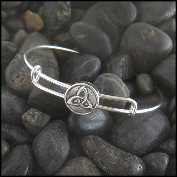 Trinity Knot adjustable bracelet