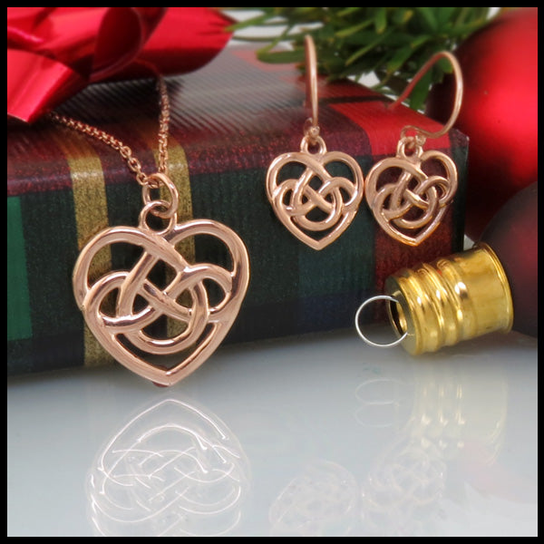 celtic heart knot jewelry