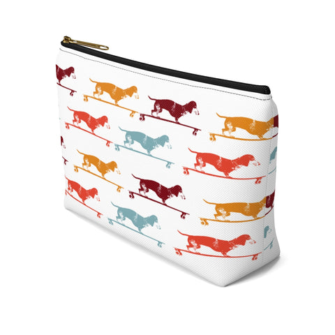 Longboard Dachshund Accessory Pouch w T-bottom - Zen Threads