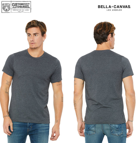 Bulk Rate Custom Printed -  Bella Canvas T-Shirts (Styles 3001 & 6004) Mens or Womens