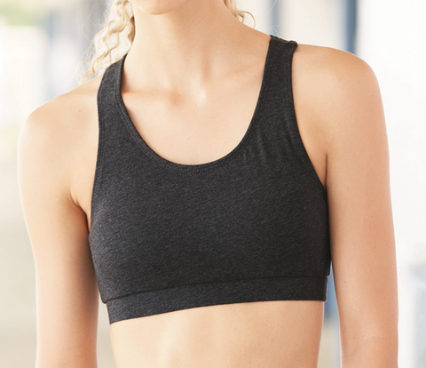 SET YOUR SOUL ON FIRE Women's Sports Bra - Hand screen printed - Zen Threads