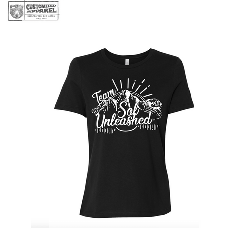 Women's TEAM SOL UNLEASHED Boyfriend T-shirt Bella Canvas 6400