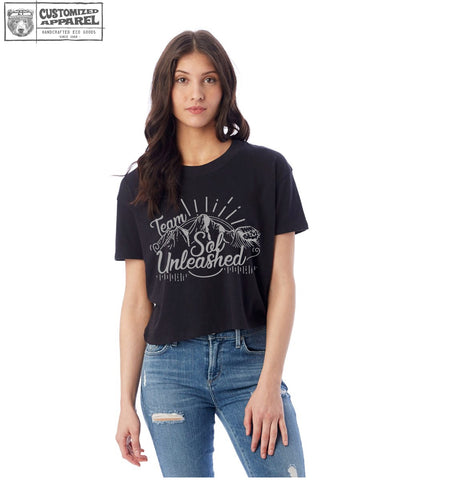 Women's SOL UNLEASHED Alternative Apparel Crop Tee
