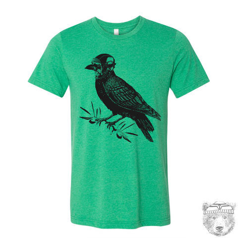 Men's RAVEN Aviator T-shirt  S M L XL XXL  (++ Color Options - Zen Threads
