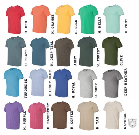 Men's UNICORN t shirt s m l xl xxl (+ Color Options) hand screen printed custom - Zen Threads