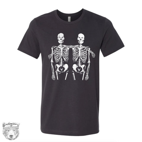 Mens SKELETONS T Shirt s m l xl xxl (+ Color Options) - Zen Threads