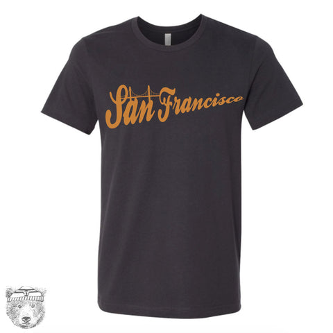 Mens SAN FRANCISCO T Shirt s m l xl xxl (+ Color Options) - Zen Threads
