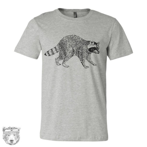 Mens RACCOON T Shirt s m l xl xxl (+ Color Options) custom - Zen Threads