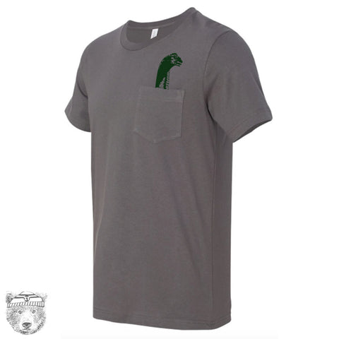Mens LOCHNESS Pocket Tee T Shirt S M L XL XXL