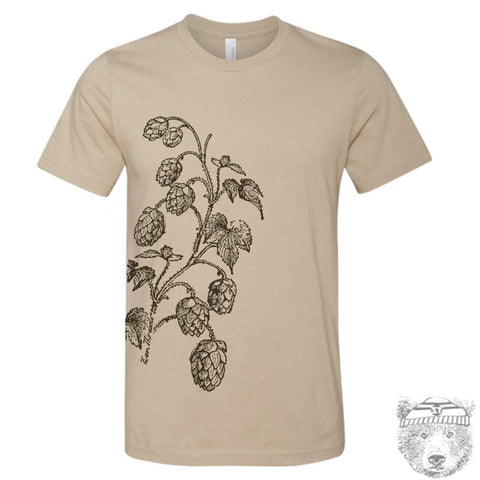 Mens HOPS t shirt s m l xl xxl (+ Color Options)