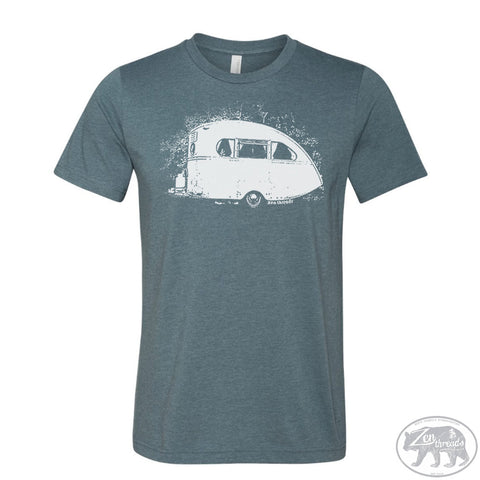 Men's VINTAGE CAMPER t shirt s m l xl xxl (+ Color Options) - Zen Threads
