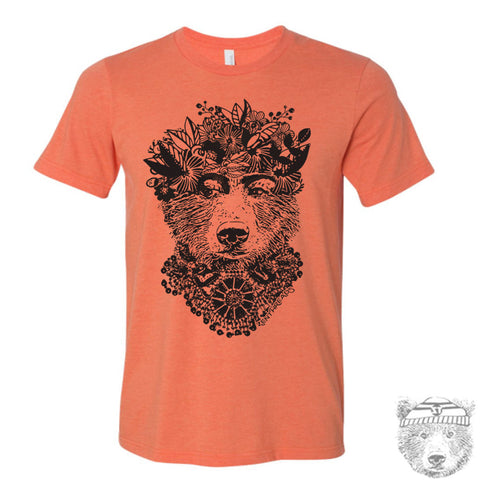 FRIDA BEAR Men's T-shirt - Zen Threads